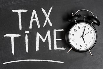 tax affect credit score
