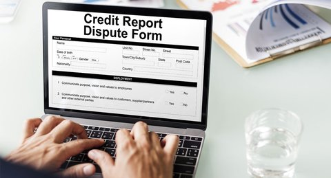 how to dispute experian credit report online